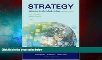 Must Have  Strategy: Winning in the Marketplace: Core Concepts, Analytical Tools, Cases with
