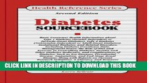 [New] Diabetes Sourcebook: Basic Consumer Health Information About Type 1 Diabetes