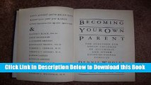 [Reads] Becoming Your Own Parent: The Solution for Adult Children of Alcoholic and Other