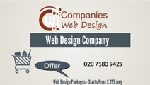 Web Design Company London | Ecommerce Web Design | Cheap Web Design Packages - Companies Web Design