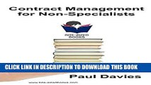 [PDF] Contract Management for Non-Specialists: A Bite-Sized Business Book (Bite-Sized Books 4)