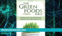 Big Deals  The Green Foods Bible  Best Seller Books Most Wanted