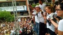 Ríos de personas tomaron las calles de Caracas para exigir el revocatorio