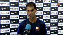 FCB Masia: Gerard López, previa FC Barcelona B - Villareal B [ESP]