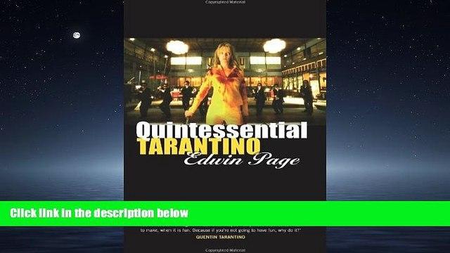 Online eBook Quintessential Tarantino: The films of Quentin Tarantino