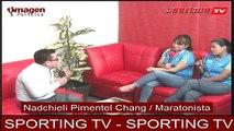 SPORTING TV-Fabiola y Nadchieli 01SEPTIEMBRE2016