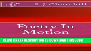 [Read] Poetry In Motion Free Books
