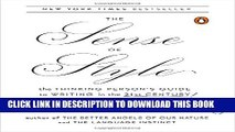 [PDF] The Sense of Style: The Thinking Person s Guide to Writing in the 21st Century Popular Online