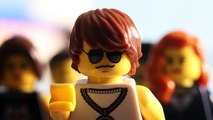 Lifestyles of the Brick and Famous - LEGO City - Minifigures - Stop Motion