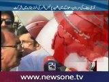 COAS, Imran Khan and Siraj-ul-Haq meets injured victims of Mardan blast
