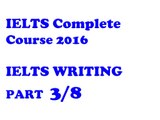 Writing Transitions 2 | IELTS Writing | IELTS Complete Course 2016