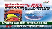 [PDF] Windows .NET Server 2003 Domains   Active Directory Full Online