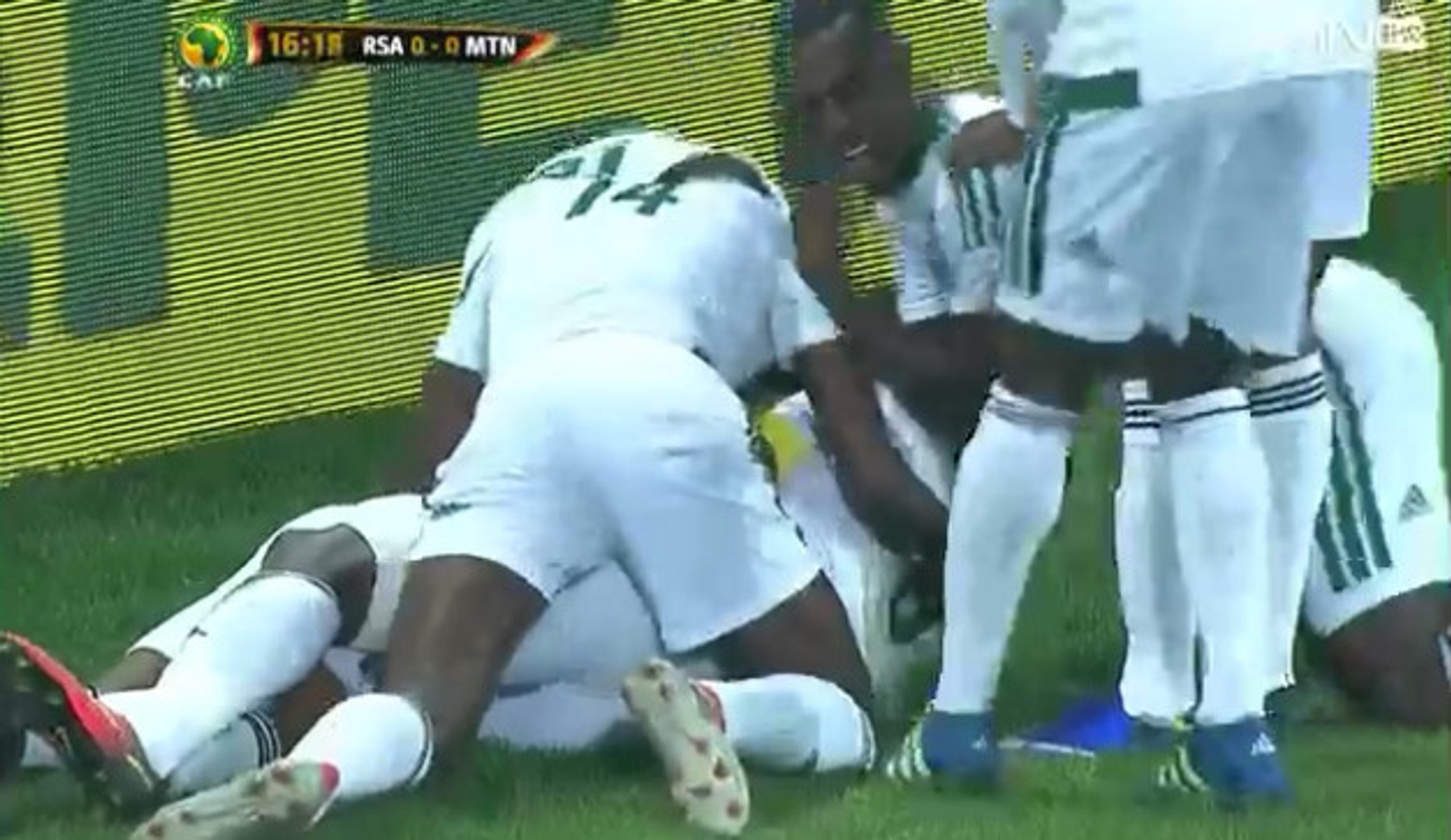 Diallo Guidileye Goal - South Africa 0-1 Mauritania - Goal (02/09/2016)