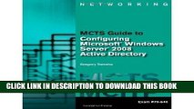 [PDF] MCTS Guide to Microsoft Windows Server 2008 Active Directory Configuration with Web-Based