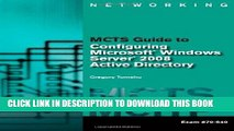 [PDF] MCTS Guide to Configuring Microsoft Windows Server 2008 Active Directory by Tomsho, Greg