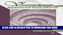 [PDF] Valuation Methods and Shareholder Value Creation: 1 Full Collection