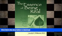 FAVORITE BOOK  The Essence of Being Real: Relational Peer Support for Men and Women Who Have