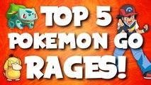 Top 5 Funniest POKEMON GO RAGES - YouTube
