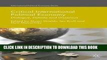 [PDF] Critical International Political Economy: Dialogue, Debate and Dissensus Popular Online