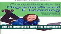 [Get] Competencies in Organizational E-learning: Concepts and Tools Popular New