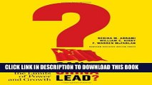 [PDF] Can China Lead?: Reaching the Limits of Power and Growth Full Colection
