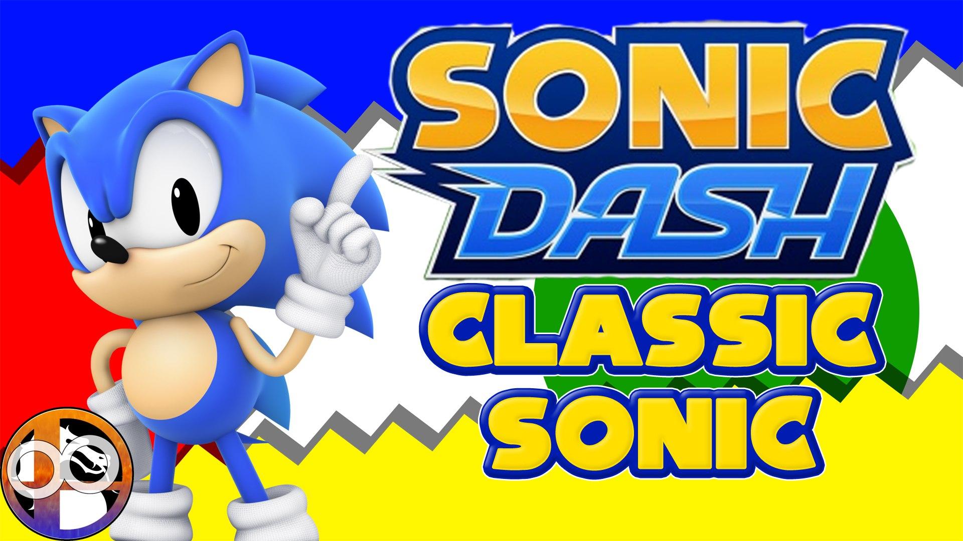 Sonic Dash Classic Sonic Gameplay Video Dailymotion