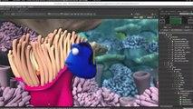 Démo d'un logiciel de 3D pour le cinéma en temps réel !