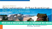 [PDF] Strategic Marketing for Non-Profit Organizations (7th Edition) Online Ebook