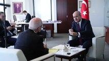 Numan Kurtulmuş, Türkiye'nin Chicago Başkonsolosluğu'nda ABD Basınına Mülakat Verdi