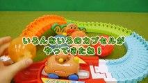 アンパンマン たまご コロコロドライブを使ってくっつくんです64を開封 おもちゃアニメ ガチャガチャ 歌 映画 テレビ Anpanman Toys Surprise eggs