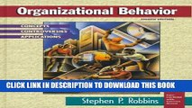 [PDF] Organizational Behavior: Concepts, Controversies, Applications (8th Edition) Full Online