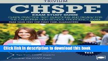 Read CHSPE Exam Study Guide: CHSPE Practice Test Questions and Review for the California High