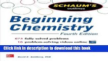 16 Videos 673 Solved Problems Schaums Outline of Beginning Chemistry