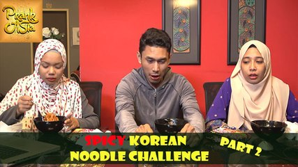 Spicy Korean Noodle Challenge | Most Spiciest Ramen | Ramen Pedas Giler! | Part 2 | Prank Asia