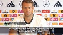 """Allemagne - Neuer: """"Suivre les traces"""" de Lahm et Schweinsteiger"""