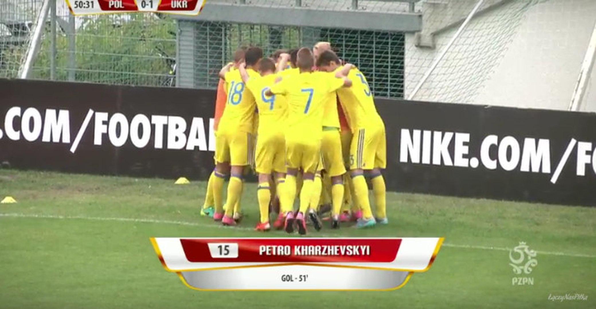 Polska - Poland 2-1 Ukraine - (Under 17) - All Goals (03/09/2016)