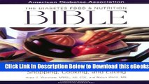 [PDF] The Diabetes Food and Nutrition Bible : A Complete Guide to Planning, Shopping, Cooking, and