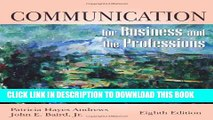 [PDF] Communication for Business and the Professions Popular Colection