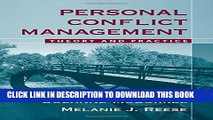 [PDF] Personal Conflict Management: Theory and Practice Popular Colection