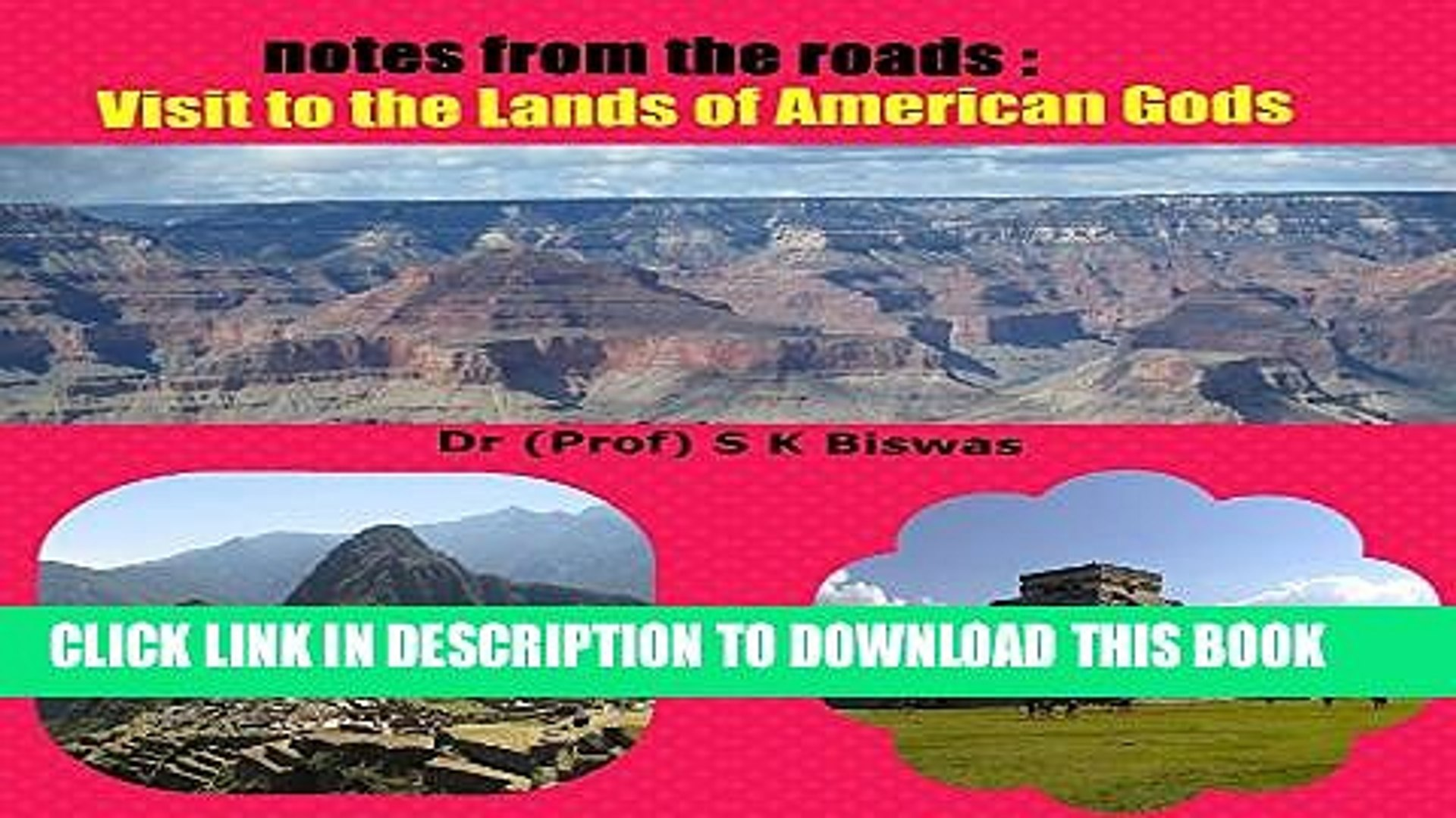 [PDF] Notes from the Roads : Visit to the Lands of American Gods Popular Collection