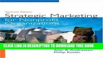 [PDF] Strategic Marketing for Non-Profit Organizations (7th Edition) Popular Colection
