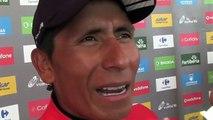 """La Vuelta 2016 - Nairo Quintana : """"Valverde avait besoin de récupérer après avoir travaillé comme toute la Movistar"""""""
