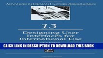 [PDF] Designing User Interfaces for International Use (Advances in Human Factors/Ergonomics)