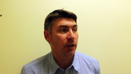Réaction Dragan Pocuca après USCHB - RK Zamet Rijeka