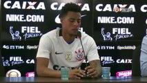 Novo camisa 9, Gustavo revelou conselhos de companheiros, comissão técnica e diretoria do Corinthians