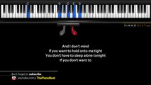 Michael Buble - I Believe in You - LOWER Key (Piano Karaoke - Sing Along)