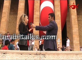 Farabi Talks at the Mausoleum of Mustafa Kemal Atatürk