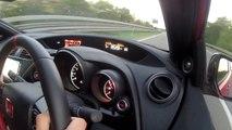 2016 Honda Civic Type R :  170mph Autobahn Top Speed Run