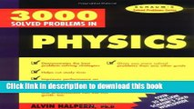 Read 3,000 Solved Problems in Physics (Schaum s Solved Problems) (Schaum s Solved Problems