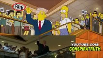 The Simpsons MOST ACCURATE Predictions   Warnings!! PRESIDENCY, REPTILIANS, RAPTURE, CERN   MORE